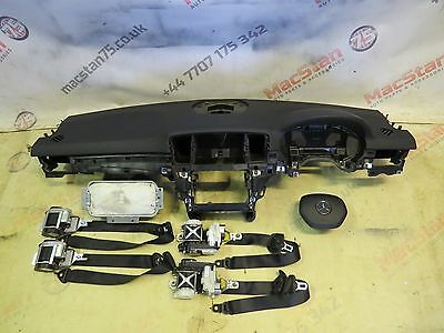 Mercedes Benz Ml W166 Air Bag Kit, Dashboard, Seat Belts Genuine Parts 2011-On