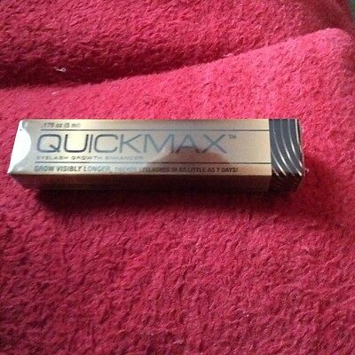 Quickmax Eyelash Growth Enhancer 5 ml new and Sealed paid £45