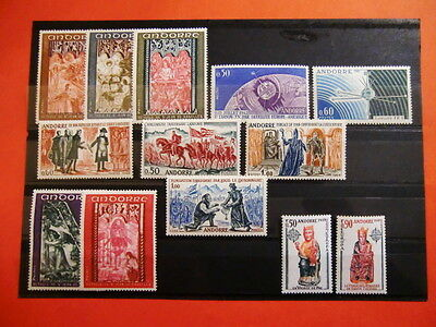 Andorre Collection Timbres Neufs