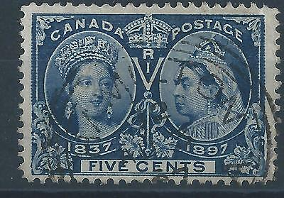 Canada 1897 SG128 5ct Queen Victoria Jubilee definitives used