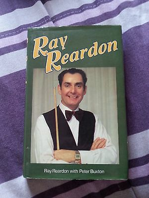 Ray Reardon - Signed Autobiography Hardback.