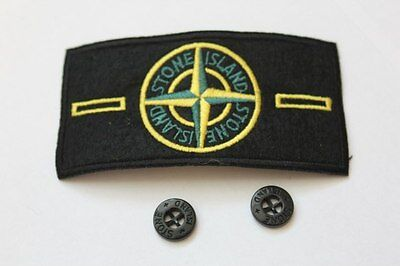 STONE ISLAND Patch   2 buttons