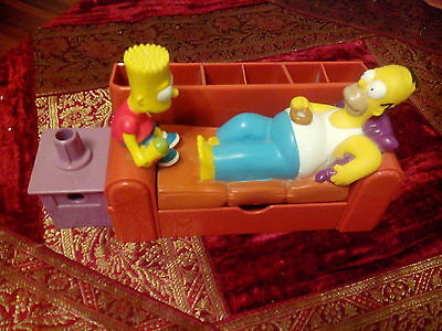 Rare Vintage Talking Simpsons Desk Tidy : Matt Groening 2003