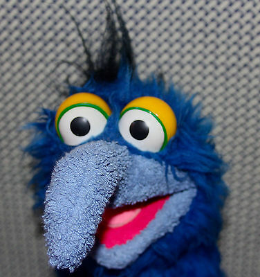 THE GREAT GONZO Jim Henson MUPPET puppet prototype head, Fisher Price