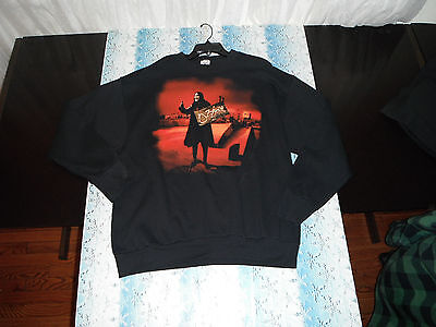 Ozzfest Ozzy Hitchhiking XL Sweater thick long sleeve shirt
