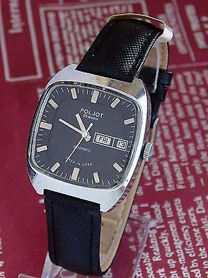 POLJOT MENS  23 jewels Date & Day Automatic watch Made in USSR
