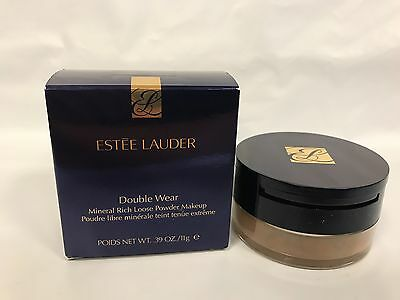 Estee Lauder Mineral Rich Double Wear Loose Powder Makeup Intensity #6 .39oz 11g