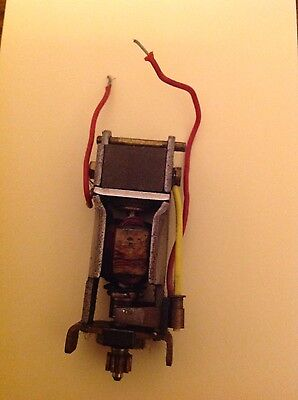 Scalextric Vintage RX engine runs well Complete with brushes and wires
