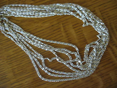 sarah coventry  CHOKER VINTAGE MID CENTURY GOLDEN CASCADE MULTI STRAND