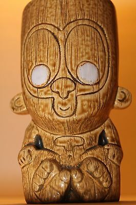 2006 MUNKTIKI Googie Monkey~Tiki Mug (Hard To Come By Tan Color) Ceramic Art