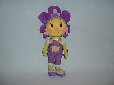 FIFI & AND THE FLOWERTOTS Talking VIOLET Cuddly Soft Plush Toy Doll (TV SHOW)