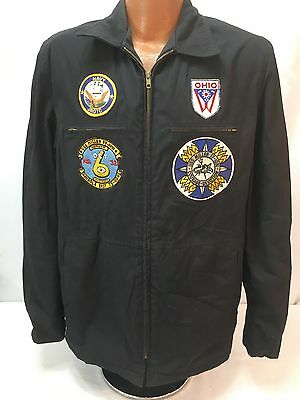 Vintage US Navy Patched Utility Jacket