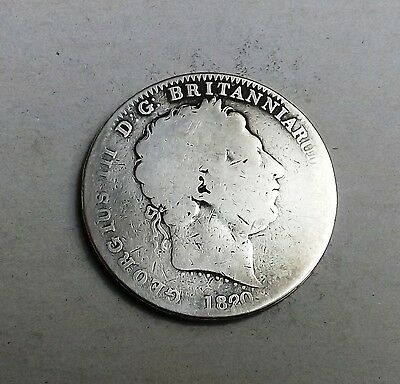 George 1V 1820 Crown Very Nice Rare Coin