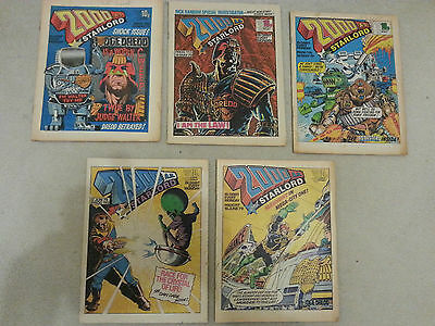 2000AD progs 105, 113, 114, 115, 117 - 5 comic collection