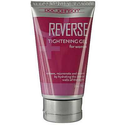 Doc Johnson Reverse Vaginal Tightening Gel For Women 56g Tube Odour & Taste Free