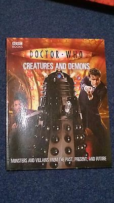 doctor who book - CREATURES AND DEMONS