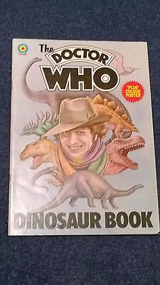 doctor who book - THE DR WHO DINOSAUR BOOK (no poster)