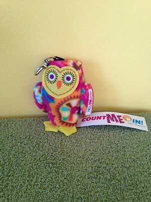 Count Me In Abc Bakers Owl Keychain