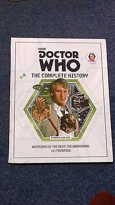 doctor who book - THE COMPLETE HISTORY  - issue 9: volume 38