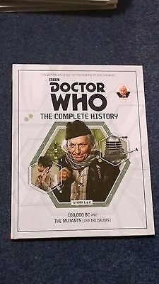 doctor who book - THE COMPLETE HISTORY  - issue 4: volume 1