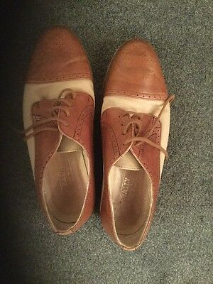 Men's Bally Leather And Canvas Shoes 7 - 7.5