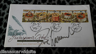 Zoe Wanamaker ***First Day Cover - Shakespears Globe*** -  original Autogramm