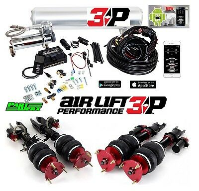 Air Lift 3P 1/4″ Management Performance Air Ride Suspension Kit Fits: Nissan GTR