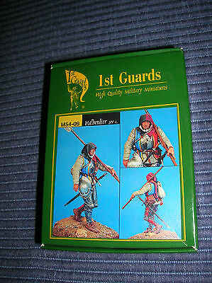Alabardiere - XV° sec.- in piombo 54mm - 1°st Guards