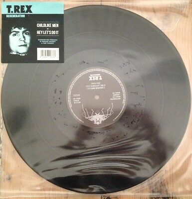 "T REX  Childlike Men (one sided etched 12"")"
