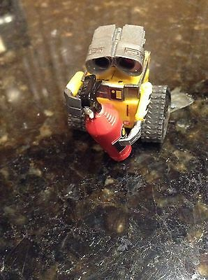 Disney Wall-E Plastic Figure Cake Topper Toy Holding Fire Extinguisher