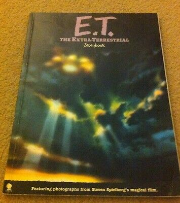 E.T. The Extra-Terrestrial Storybook Original from 1982