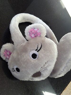 Cute Mouse Childrens Ear Muffs (for age 2-5 years)