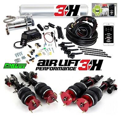 Air Lift 3H 1/4″ Management Performance Air Ride Suspension Kit Fits: Nissan GTR