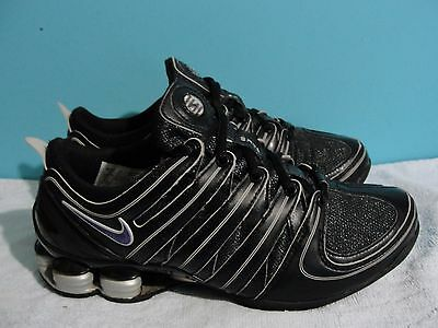 Womens Nike Shox  Sneakers Athletic Running Shoes 313764-101 SIZE 6.5
