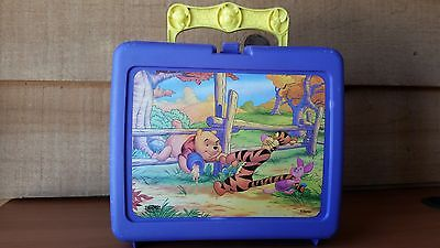 Winnie The Pooh Lunchbox With Thermos, 1996