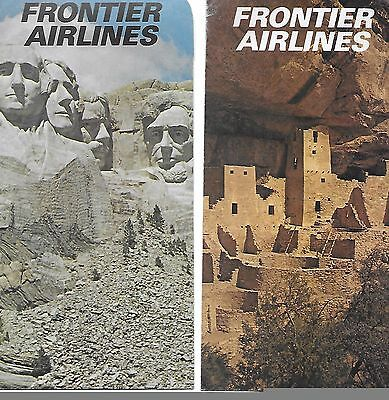 Frontier Airlines Ticket Envelopes(2)