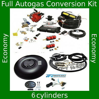 Complete Autogas Conversion kit for 6 cylinders STAG Qmax 184 kW / 250 HP LPG V