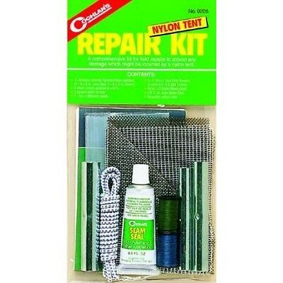Coghlans Tent Repair Kit - Repair almost Any Damage To Your Nylon