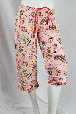 Paul Frank -XS- $47 Pink Julius Friends Freak Show Amusement Park Sleep PJ Pants