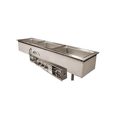 "Wells MOD-200TDM-QS Dual 12""x20"" Quickship Built-in Top Mount Food Warmer"