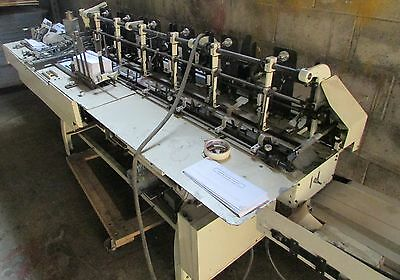 Bell & Howell Imperial 10000 6 Station Inserter With Conveyor