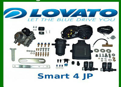 Autogas Conversion kit for 4 cylinders Lovato Smart 120 kW / 165 HP LPG