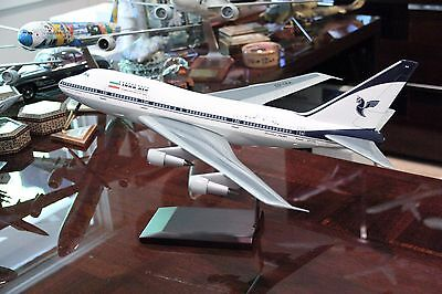 Iran Air Boeing 747Sp Airline Display 1/100 Scale Lhs Models Germany Brand New
