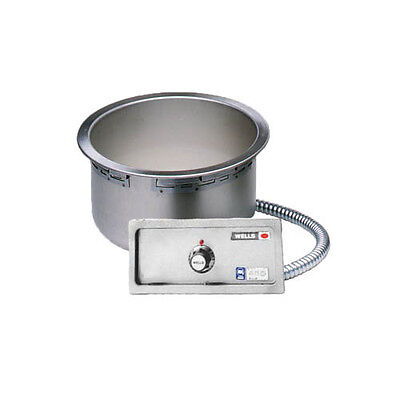 Wells SS-8TDUIAF Built-in Top Mount Food Warmer for 7 Quart Round Inserts