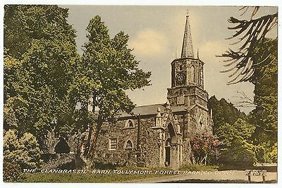 Old Postcard 'The Clanbrassil Barn' Tollymore Forest Park Co Down 1959