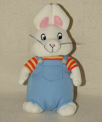Max Ruby Plush Bunny Rabbit Stuffed Animal Rosemary Wells TY Beanie Babies Toy