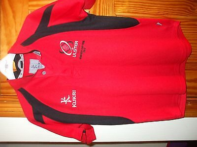 """ULSTER RUGBY CLUB TOP (heineken cup final2012) size 34"""" chest"""