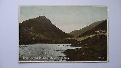 Old Postcard 219062 In the Mountains of Mourne, Newcastle, Co. Down Valentine's