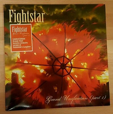 "Fightstar 'grand Unification Part 1' 7"" Orange Numbered Vinyl Single"