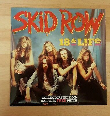 "Skid Row '18 & Life' 7"" Vinyl Single"